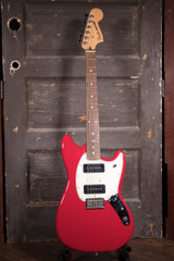 Used Fender Mustang P90 Electric Guitar w/Case