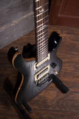 PRS SE Custom 24 Floyd Electric Guitar -  Grey Black