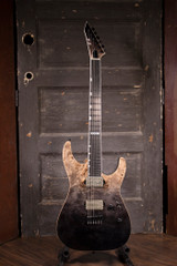 ESP E-II M-II NT Electric Guitar - Black Natural Fade