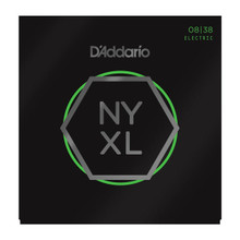 D'Addario NYXL0838 Nickel Wound Electric Guitar Strings, Extra Super Light, 08-38
