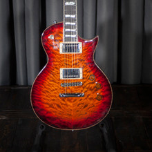 ESP USA Eclipse Electric Guitar Quilt Tiger Eye w/OHSC - SOLD