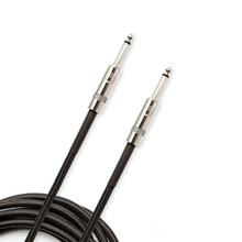 D'Addario BRAIDED INSTRUMENT CABLES Black, 15ft.