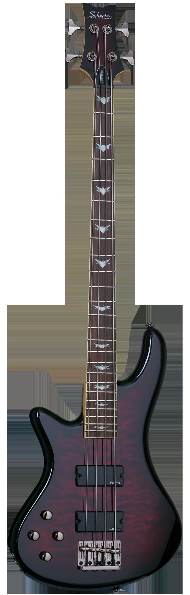 Schecter Stiletto Extreme-4 BCH Bass Guitar w// Case
