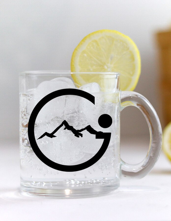 Global Infusion Logo Glass Coffee Mug