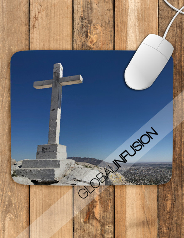 Mexico Cross Landscape Mousepad