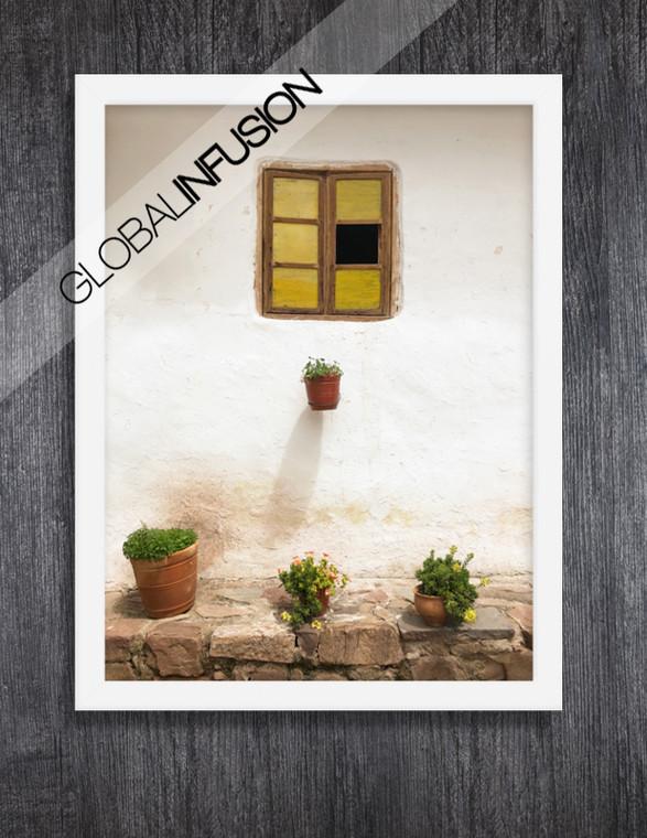 Peruvian Window Giclée Art Print