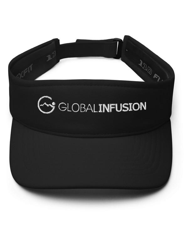 Global Infusion Logo Embroidered Visor