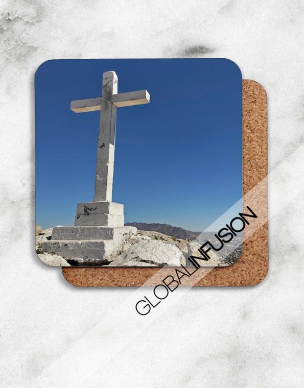 Mexico Cross Cork-back Coasters Set