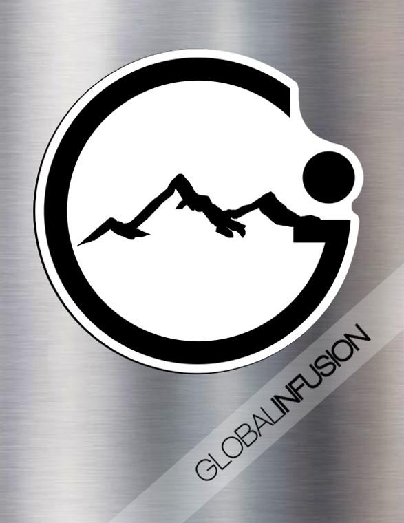Global Infusion Die Cut Vinyl Magnet
