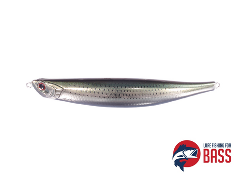 OSP Bent Minnow 130F SW Spotted Shad