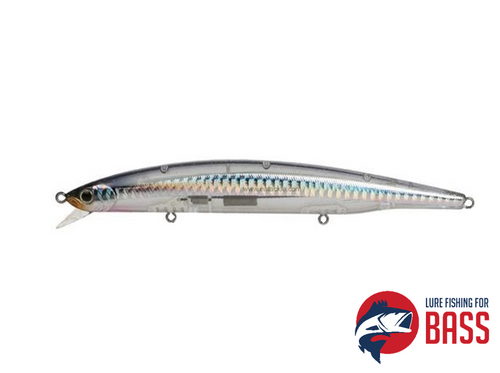 BassDay Surf 124F Clear Silver Sprat