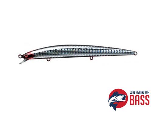 Daiwa Shoreline Shiner 125F Slim Lure 12g 3D Bloody Sardine