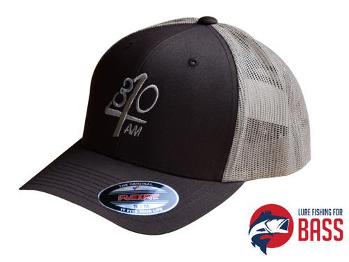 430AM Gear Snapback Trucker Cap Moss and Tan