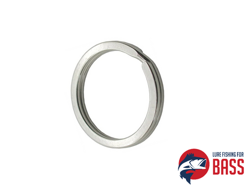 HTO Stainless Flat Split Rings #8