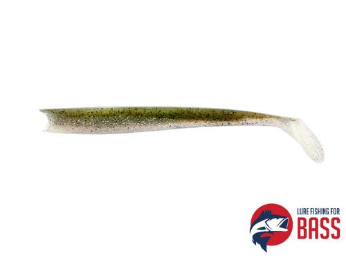 Ultimate Fishing Biomax Medium Sayori Shad 190 Aji Silver Glitter