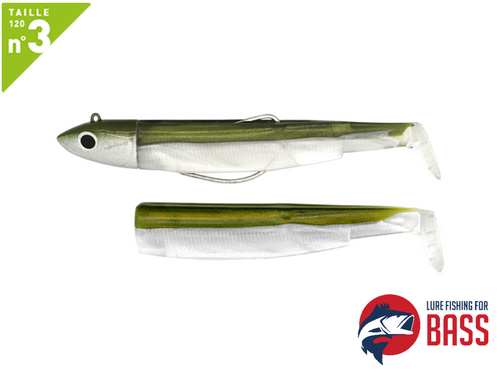 Fiiish Black Minnow #3 120 Off Shore Combo Kaki 25g