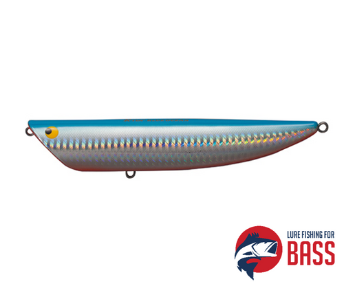 Tackle House Ripple Popper BKRP-115 No.101 Blue Back Chrome Red Belly 21g
