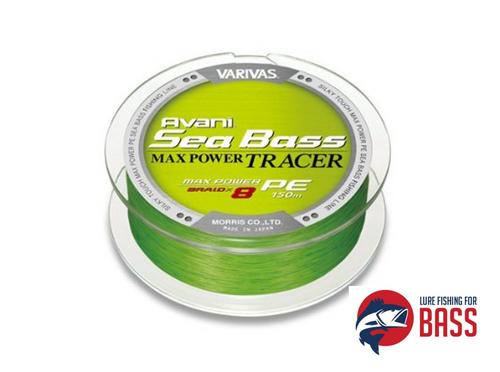 Varivas Avani Sea Bass Max Power Tracer 8X 14LB 0.8PE