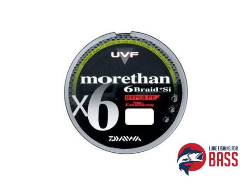 Daiwa morethan X6 Braid Hyper PE 150m 11lb