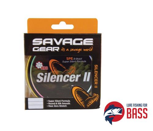 Savage Gear HD8 Silencer II 8X 20LB