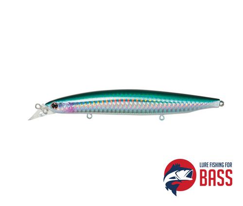 Daiwa Shoreline Shiner Vertice R 125F Silver Stripe Herring 20g