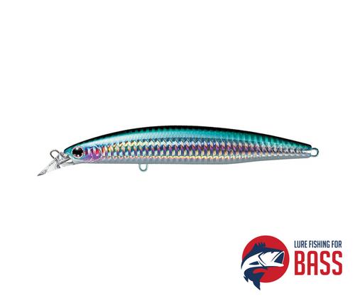 Daiwa Shoreline Shiner Z130F-HD Lunker Hunter  Silver Stripe Herring 26g