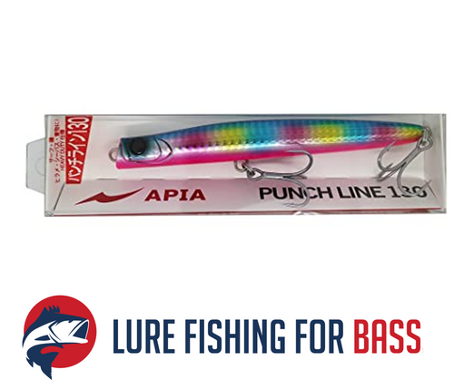 APIA Punch Line 130 36g Blue Back Candy Pink Belly