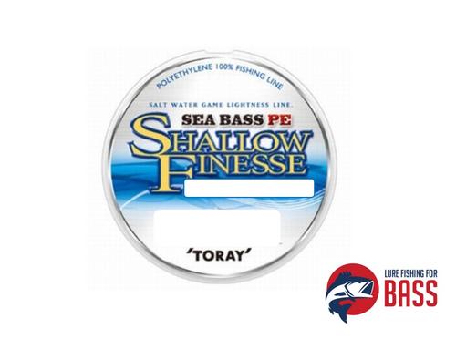 Toray Sea Bass Shallow Finesse Braid 7LB