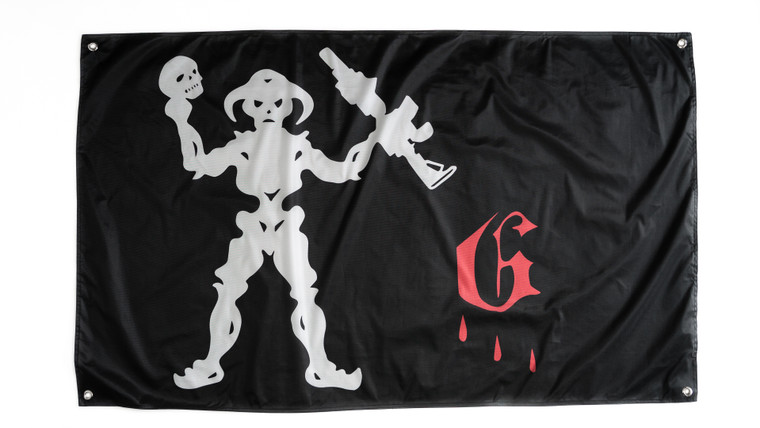 GST Blackbeard Flag