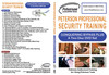 Peterson Professional Security Training 2-Disc DVD Set (PAL)