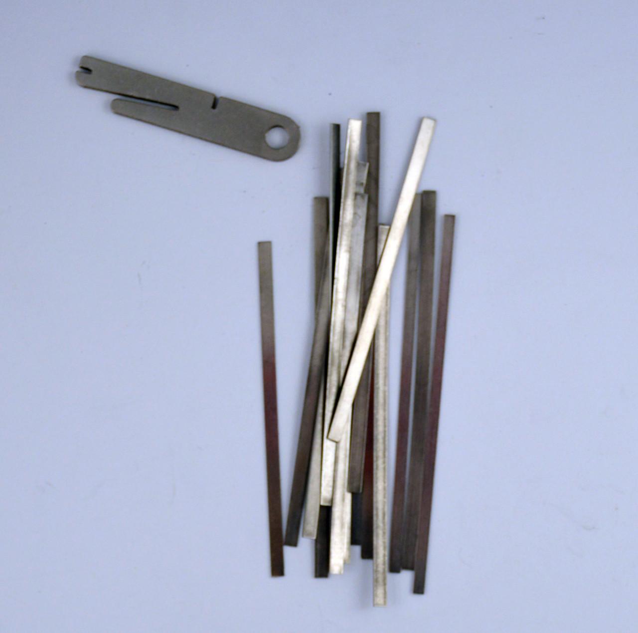 U-Bend-It Assorted - Flat Stock w/Bending Tool