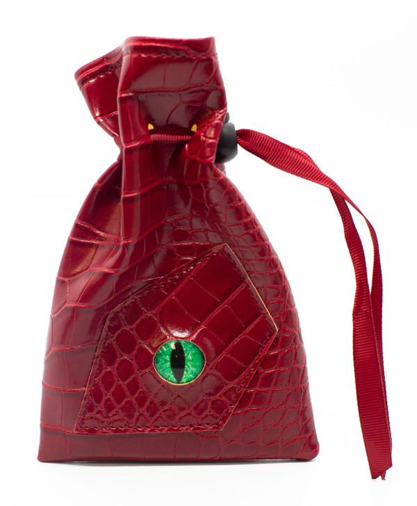 Dragon Eye RPG DnD Dice Bag: Red Dragon