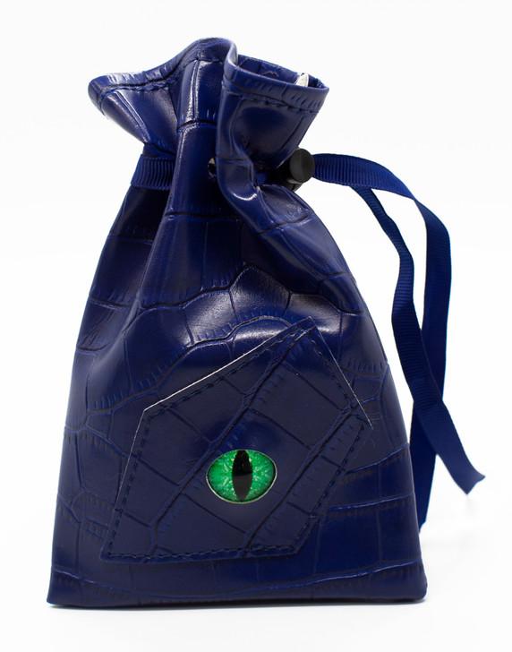 Dragon Eye RPG DnD Dice Bag: Blue Dragon