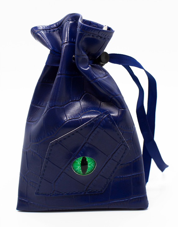 Dragon Eye RPG DnD Dice Bag: Blue Dragon