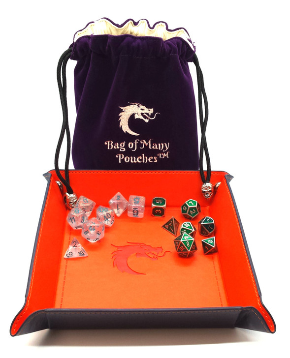 Hard Core Bundle: Tray, Bag of Many Pouches, Elven Forged Set & Luminous