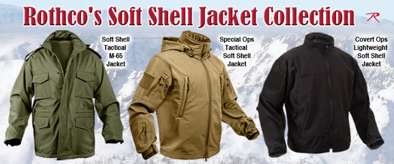 Rothco Soft Shell Jacket Collection