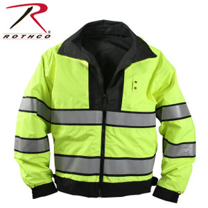 Reversible Yellow Reflective Side
