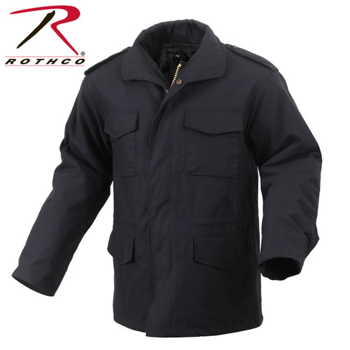 Rothco M-65 Field Jacket with Liner-Black (8444)