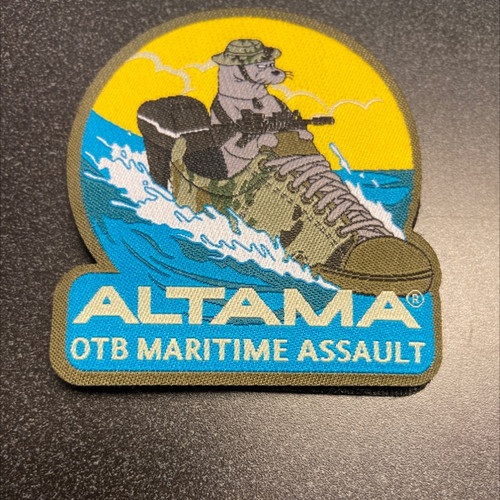 ALTAMA OTB Maritime Assault Seal Patch-Hook Back (OTB)