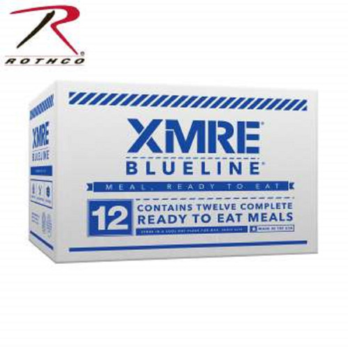 XMRE Blue Line Meals -12 Pack (9212) SOLD BY THE CASE OF TWELVE MEALS