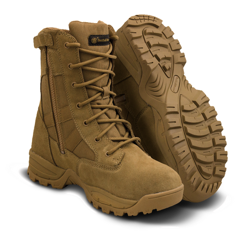 """SMITH & WESSON® FOOTWEAR-BREACH 2.0 8"""" SIDE-ZIP WP Coyote (810403)"""
