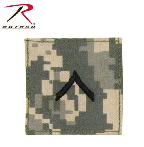 Official US Made Embroidered Rank Insignia-ACU Digital