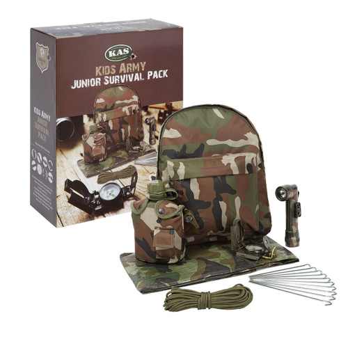 Kid's Army Junior Survival Pack