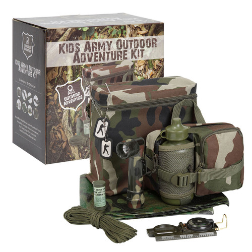 Kid's Army Outdoor Adventure Kit