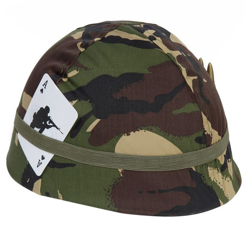 Kids Army Woodland Camo Helmet