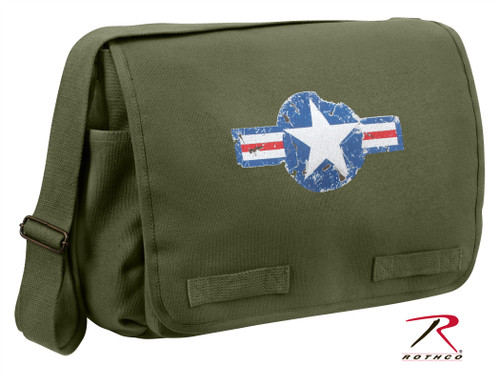 Rothco Classic Heavyweight Canvas Air Corps Messenger Bag (9756)