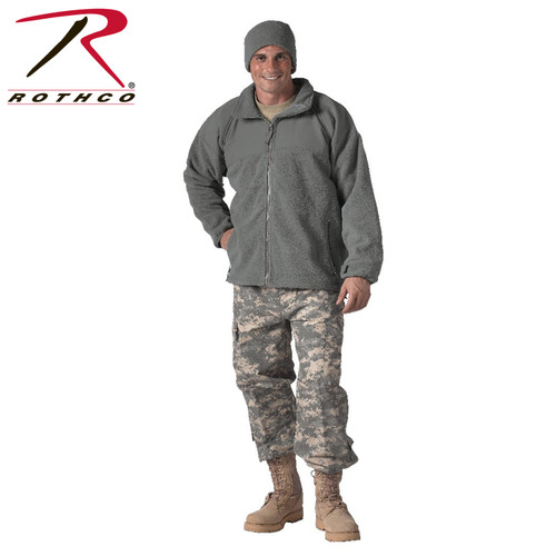 Gen II ECWCS Fleece Jacket-Foliage Green