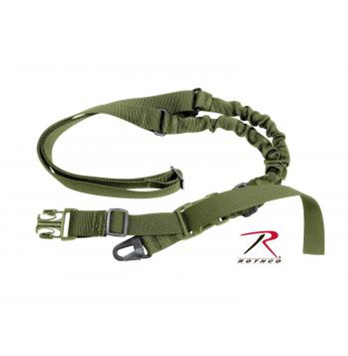 Rothco Tactical Single Point Sling-Olive Drab Green (4085)