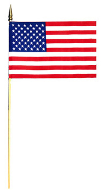 "8"" x 12"" United States Stick Flag Bundle"