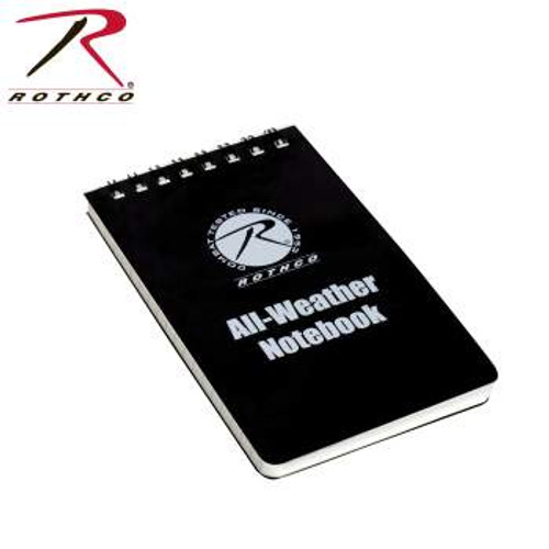 "All Weather Waterproof Notebook-3"" X 5"" Black (47000)"
